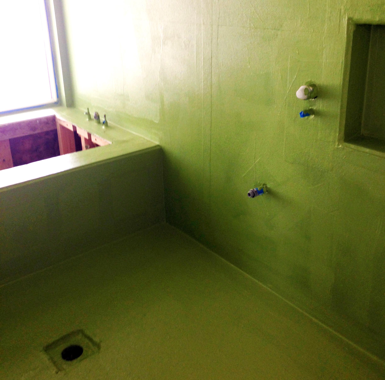 Bathroom waterproofing the waterproofers