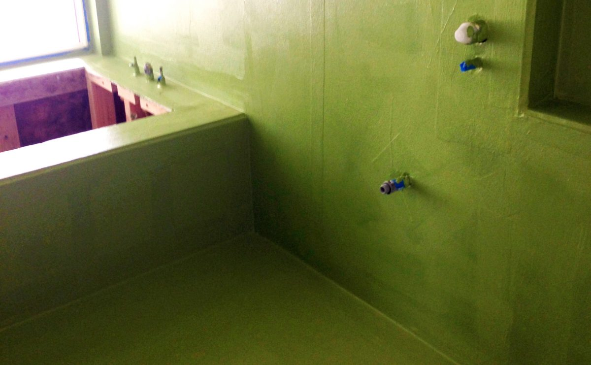 Seamless Liquid Bathroom Waterproofing